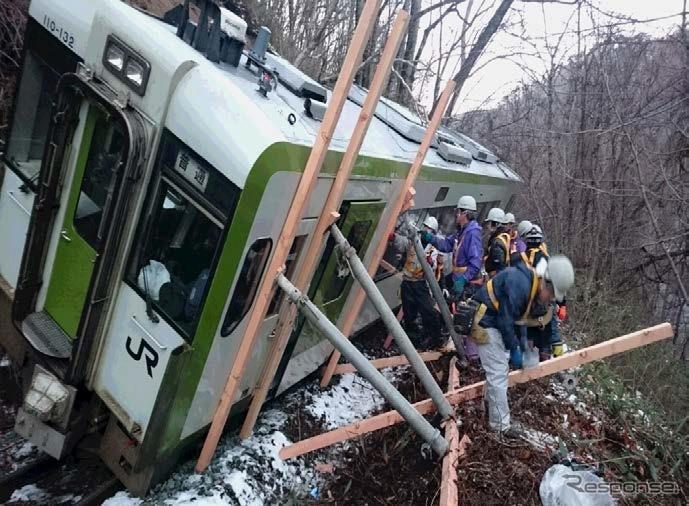 鉄道路線の災害運休区間、山田線不通で50km増…2015年12月末 ...
