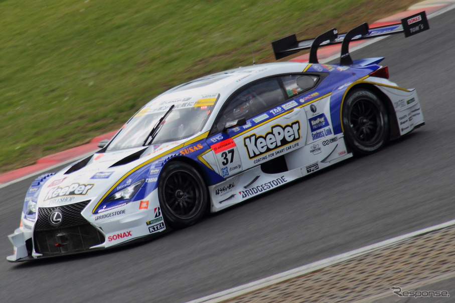 東京オートサロン2016、TOM'Sブースに登場するSUPER GTのレクサス『RC F』