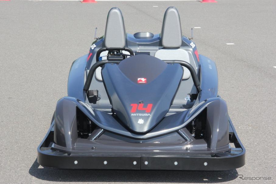 鈴鹿サーキットのアトラクションとして登場するEVカート「サーキットチャレンジャー」