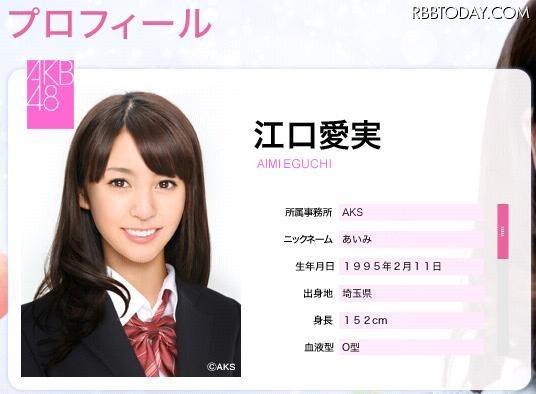 実在? CG? 衝撃デビューのAKB48江口愛実、グリコの特設サイトに! AKB48公式サイト風のプロフィールもあるのだが……