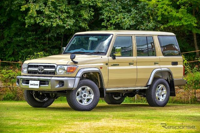 Land Cruiser Motor Show in Tokyo celebrates Japanese re-release of 70-Series - 739755