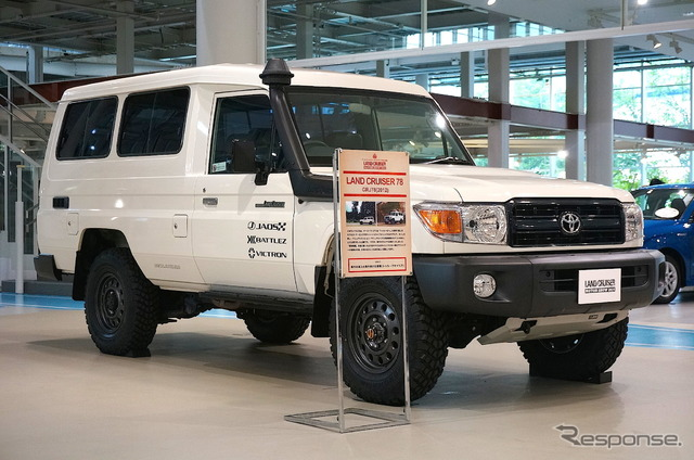 Land Cruiser Motor Show in Tokyo celebrates Japanese re-release of 70-Series - 740643