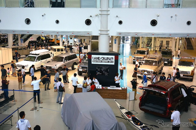 Land Cruiser Motor Show in Tokyo celebrates Japanese re-release of 70-Series - 740651