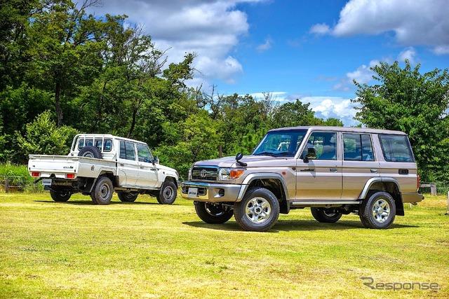 Land Cruiser Motor Show in Tokyo celebrates Japanese re-release of 70-Series - 741042