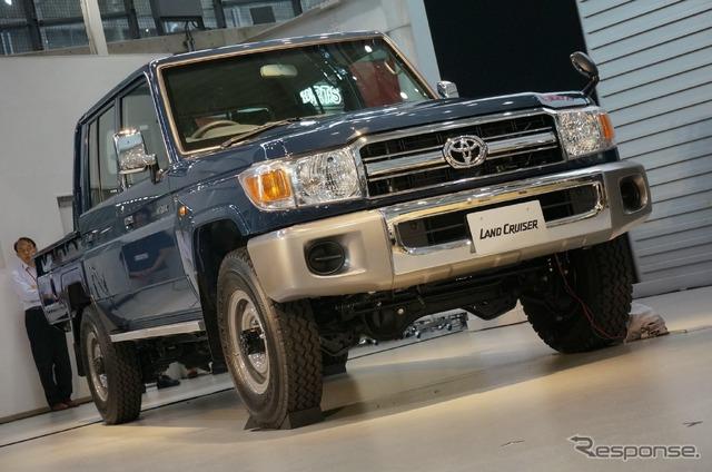 Land Cruiser Motor Show in Tokyo celebrates Japanese re-release of 70-Series - 741045