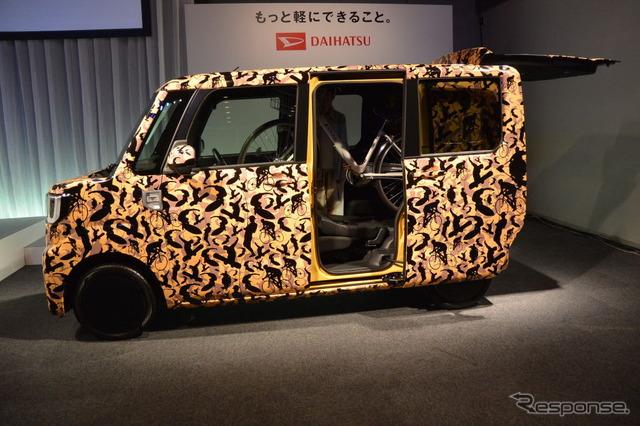 軽自動車規格の限界まで全高を高くした、箱のような軽自動車 発売へ 乗り出し200万円以上か