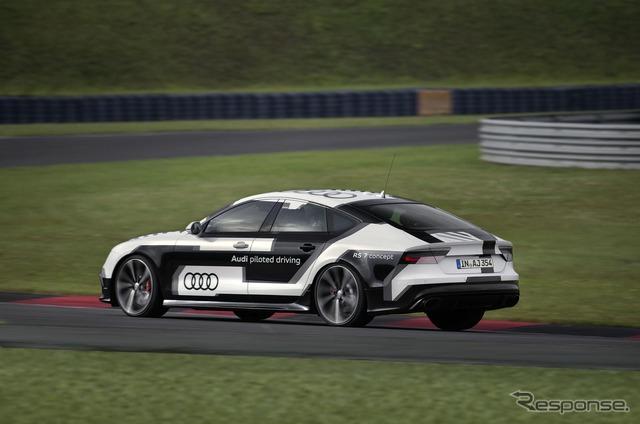 アウディ RS7 のロボットカー(参考画像)