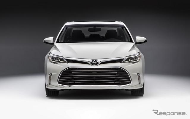 トヨタの最上級車「アバロン」かっこいいな、日本でも売れよ