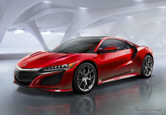 ホンダ NSX 新型、V6エンジンは3.5リットルに決定 ツインターボと高効率モーターを内蔵 550hp以上