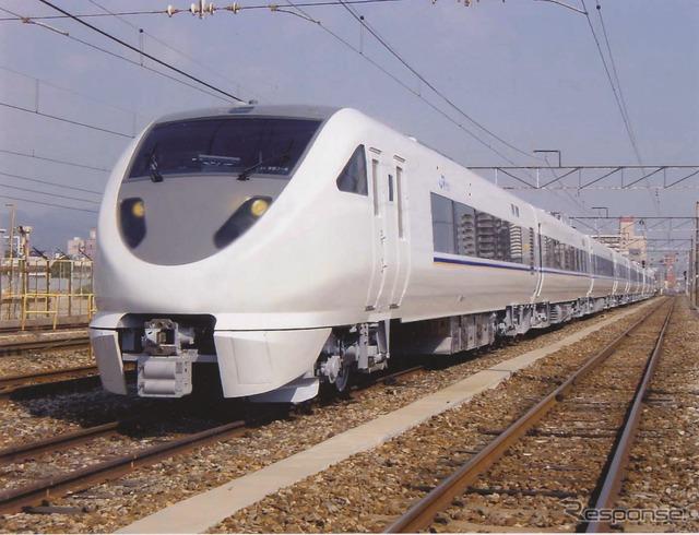 『しらさぎ』で運用されてきた683系。形式を「289系」に変更し、南紀・北近畿地区の特急に投入される。