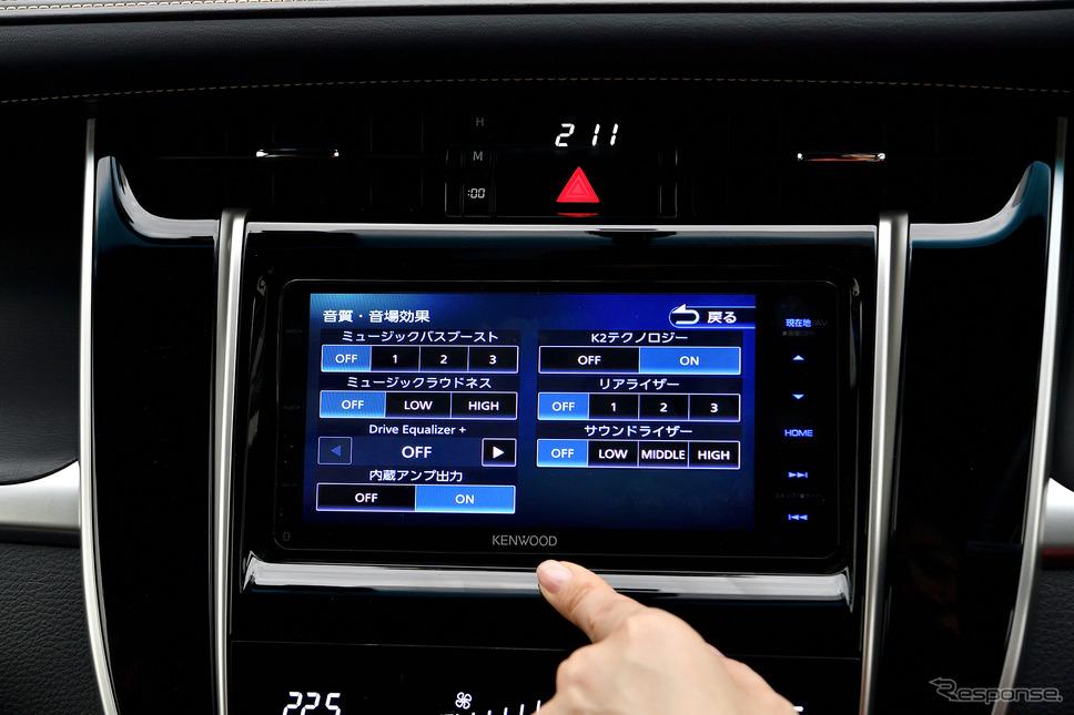 CDやスマホに入っている音源、デジタルプレイヤーなど多彩な音楽ソースに対応する。