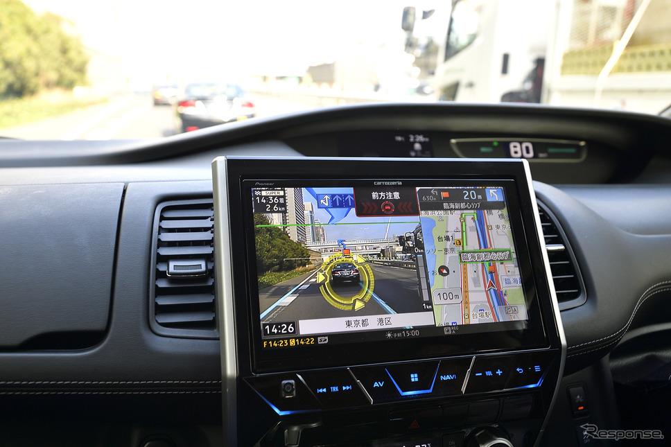 車間が詰まると画面と音で注意を促してくれる