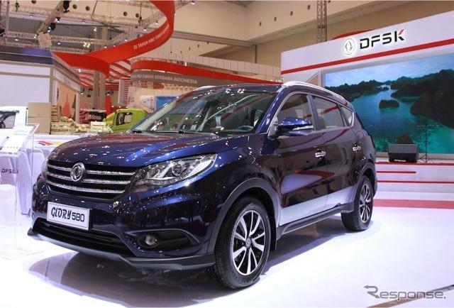 インドネシアではウーリンに続く第2の中国ブランド車も(写真はDFSK Glory 580)