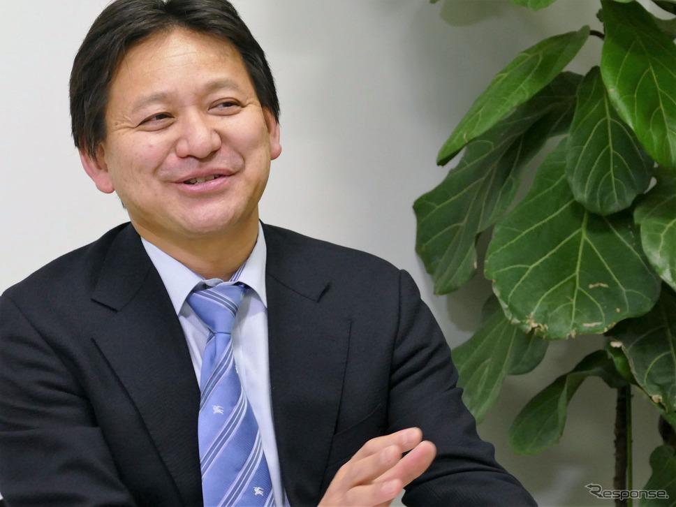 本田技術研究所 自動運転用AI研究開発グループ グループリーダの安井裕司氏。