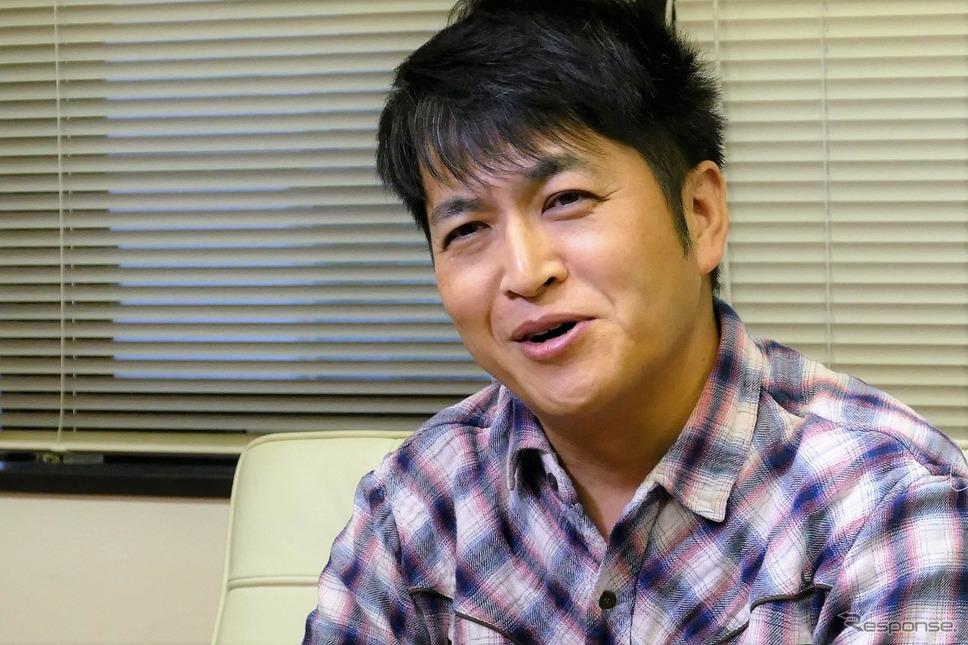 株式会社ZMP 代表取締役社長の谷口恒(たにぐちひさし)氏