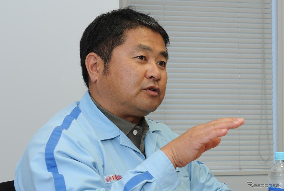 ヤマハ発動機 YZ450F 開発プロジェクトリーダーの櫻井太輔氏