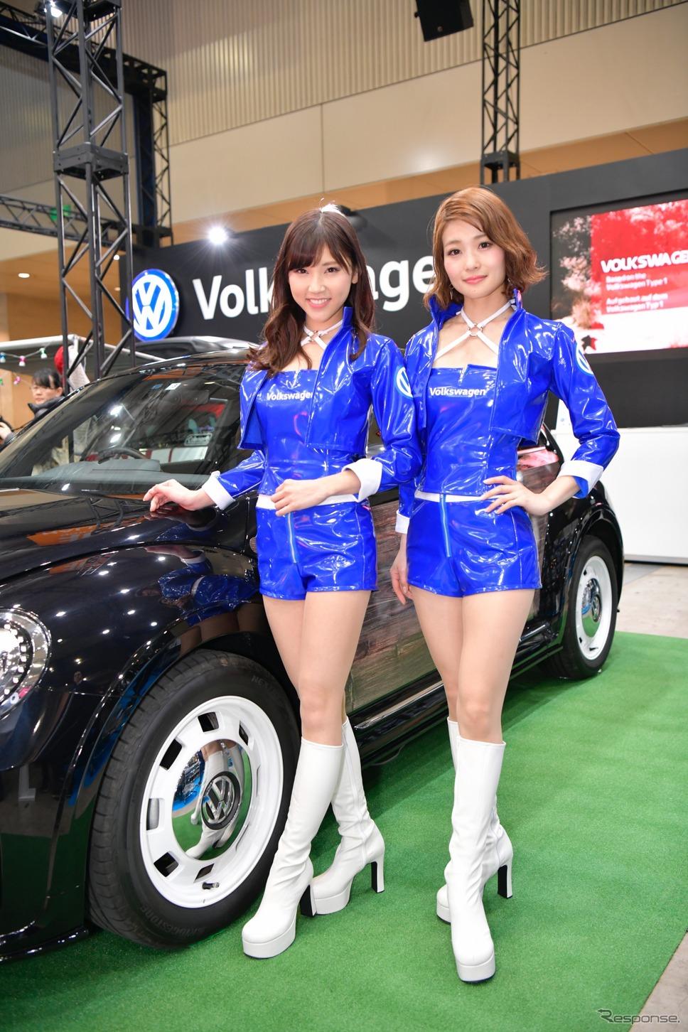 VWコンパニオン(東京オートサロン2018)