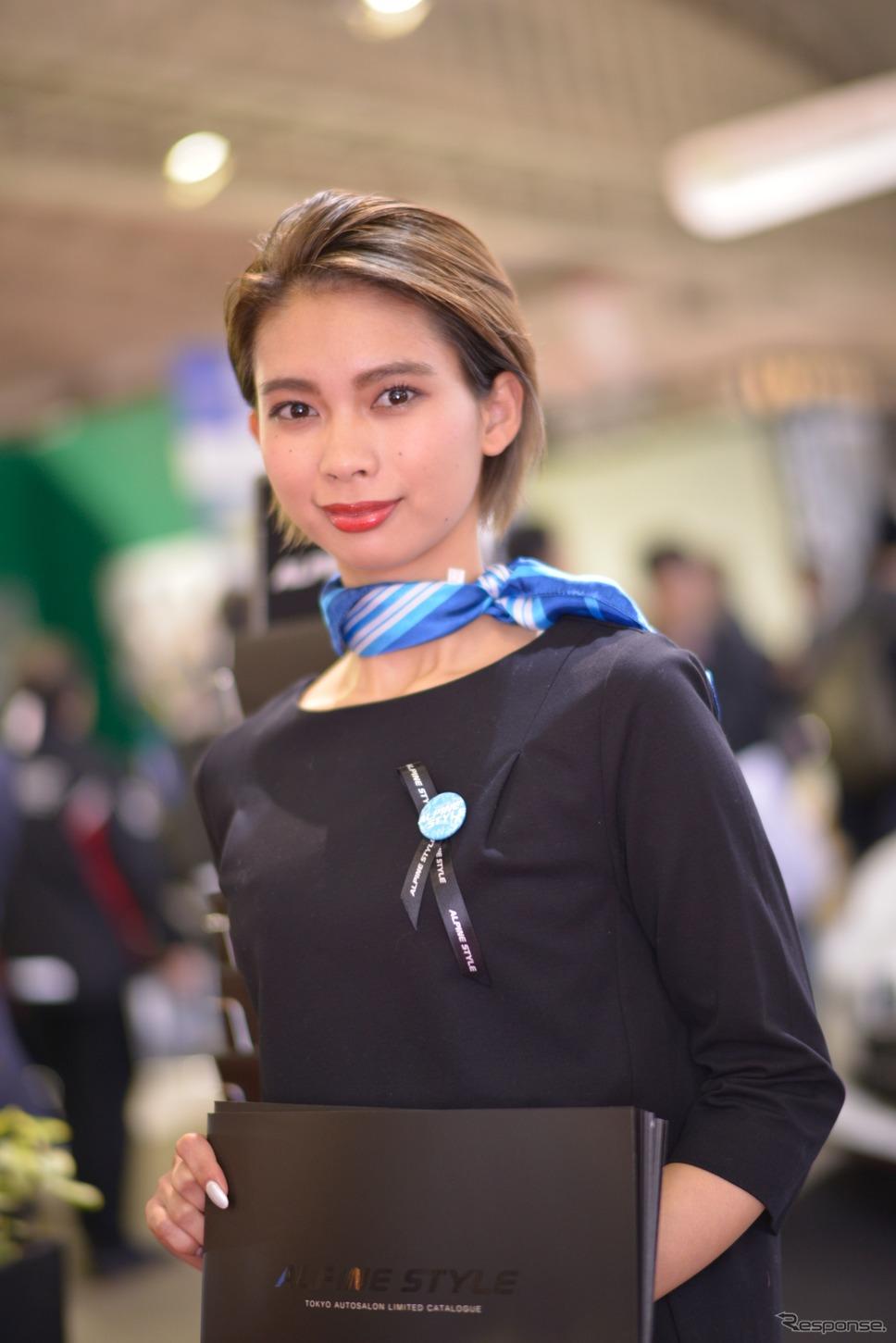 アルパインスタイルコンパニオン(東京オートサロン2018)