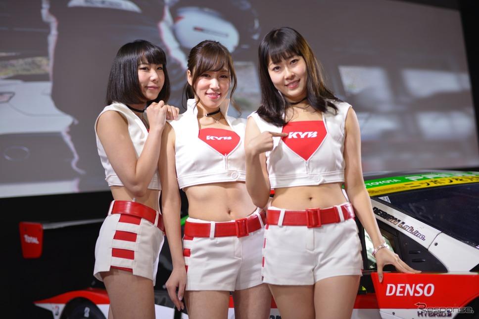 KYBコンパニオン(東京オートサロン2018)