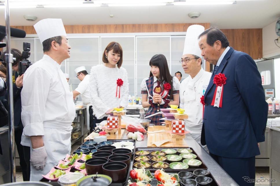平成29年度 NEXCO東日本 新メニューコンテスト。審査時間は1チームあたりわずか6分!