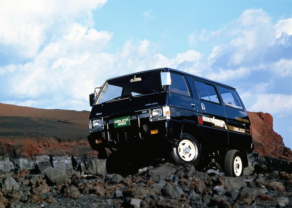 1985年 2代目三菱デリカ・スターワゴン4WD DT