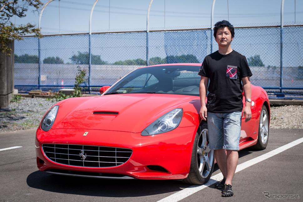 一般社団法人日本スーパーカー協会の山里真元氏(2018年5月5日)