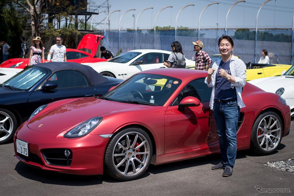 一般社団法人日本スーパーカー協会代表理事の須山泰弘氏(2018年5月5日)
