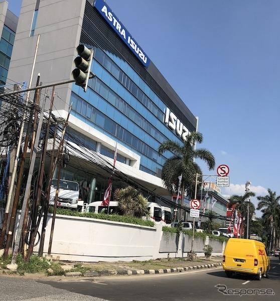 インドネシアのいすゞ販売拠点