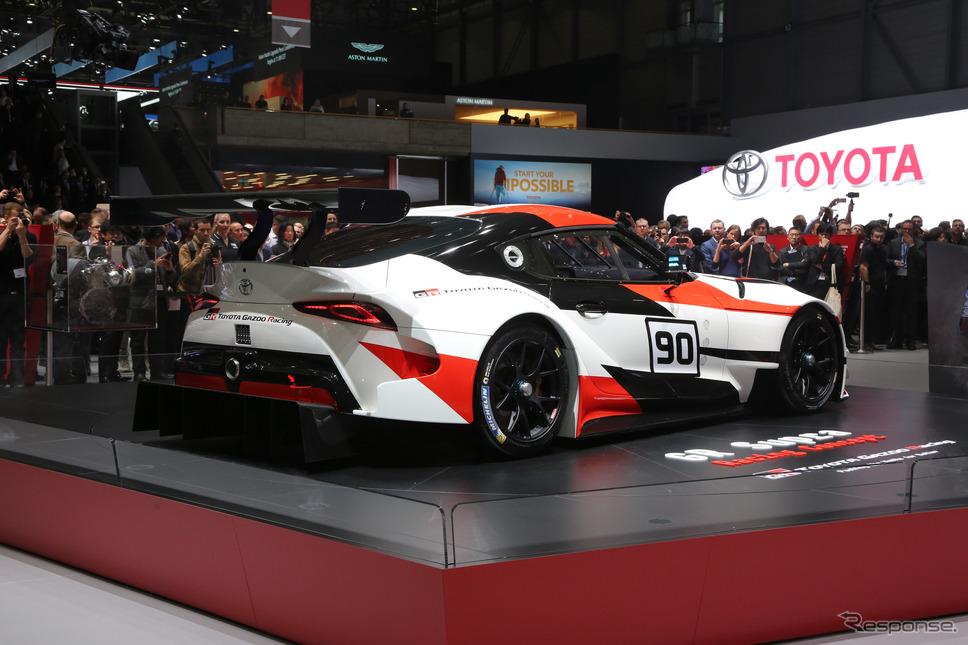 トヨタ GRスープラ・レーシングコンセプト(ジュネーブモーターショー2018)