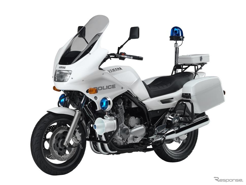 海外で白バイとして使われているヤマハの「XJ900P」。国によって求められる性能も異なる