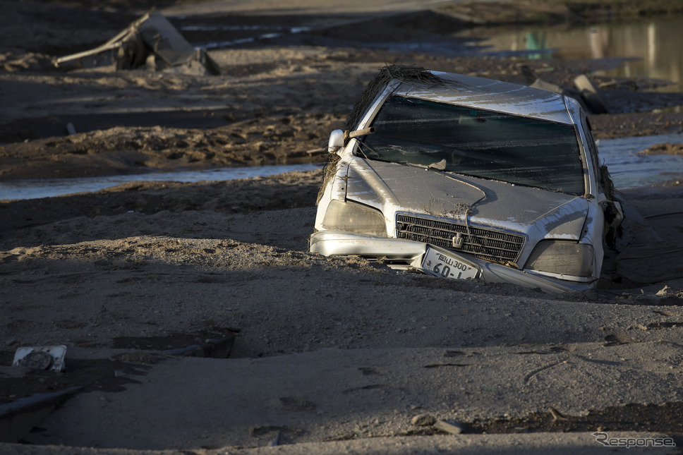 平成30年7月豪雨(7月9日、岡山県倉敷市) (c) Getty  Images