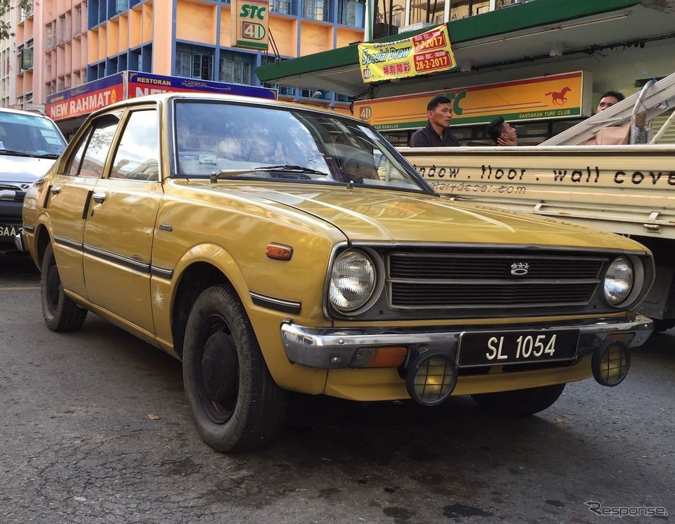 トヨタカローラ30、マレーシア・クアラルンプールにて