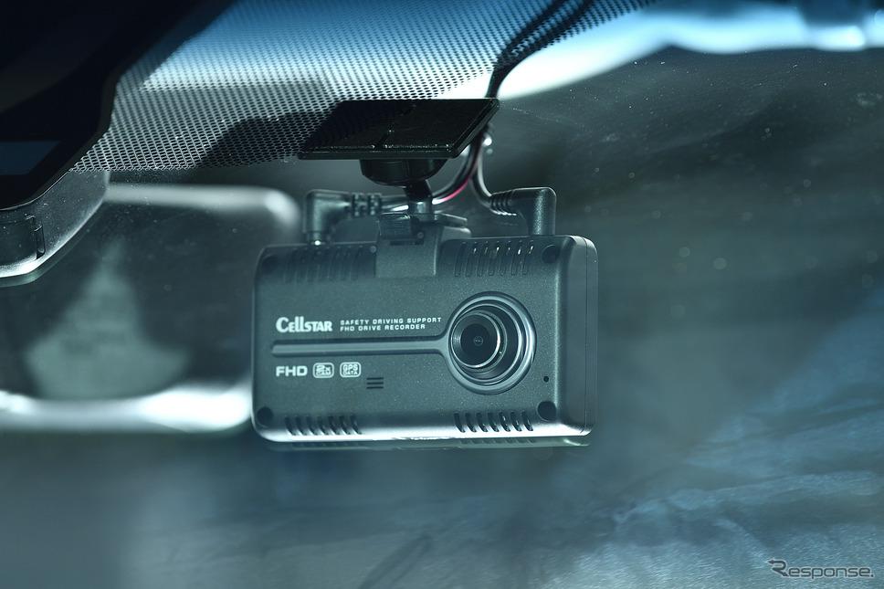 フロントカメラは200万画素。夜間やトンネル内でも綺麗に録画可能な『ナイトビジョンVer.2』搭載