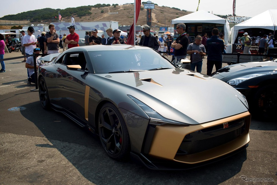 日産『GT-R50 by イタルデザイン』(モントレーカーウィーク)