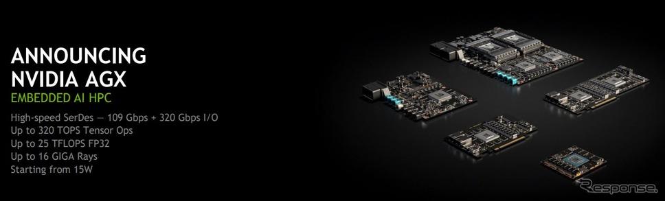 NVIDIA AGX 製品群