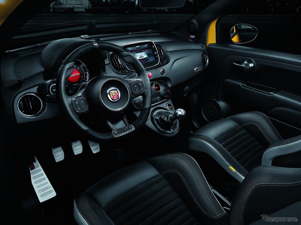アバルト595 改良新型のコンペティツィオーネ