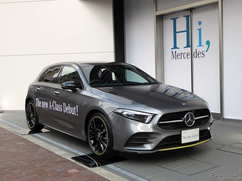 導入記念限定車(特別仕様車)の「A180 Edition1」が設定された。デリバリーは今年2018年12月