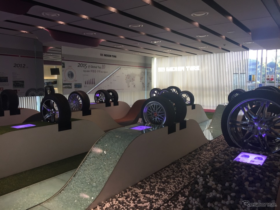 【PR】良いタイヤとは何か…そしてネクセンタイヤとは何者なのか!? ネクセンタイヤ チャンニョン工場エントランスショールーム