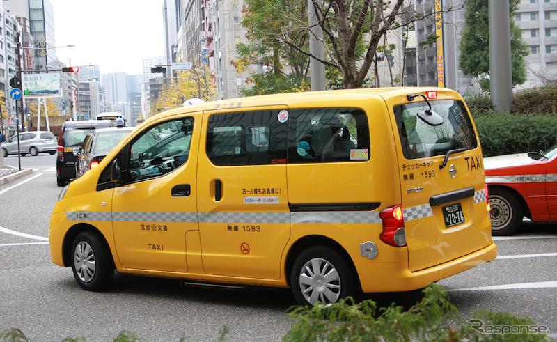 日産NV200タクシー