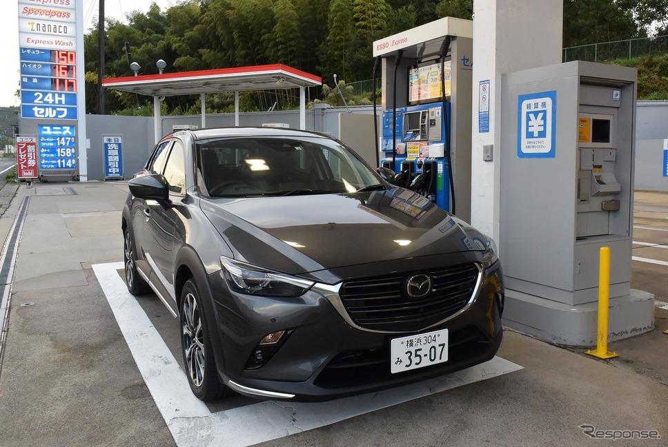 横浜を出発後、京都北方、亀岡にて初回給油。23.2km/リットル。その後、エンジン特性を把握するにつれて燃費はどんどん上がっていった。