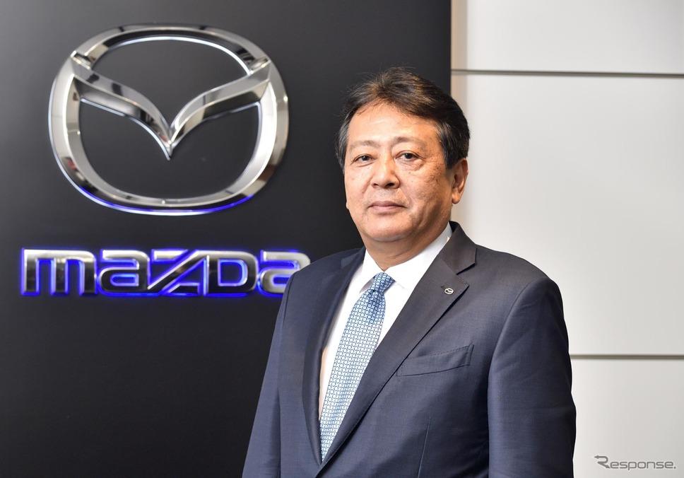 マツダ代表取締役社長兼CEO 丸本明氏