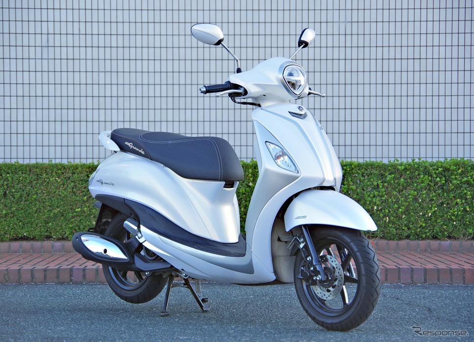 ヤマハがベトナムで販売するハイブリッドスクーター「NOZZA GRANDE(ノザグランデ)」