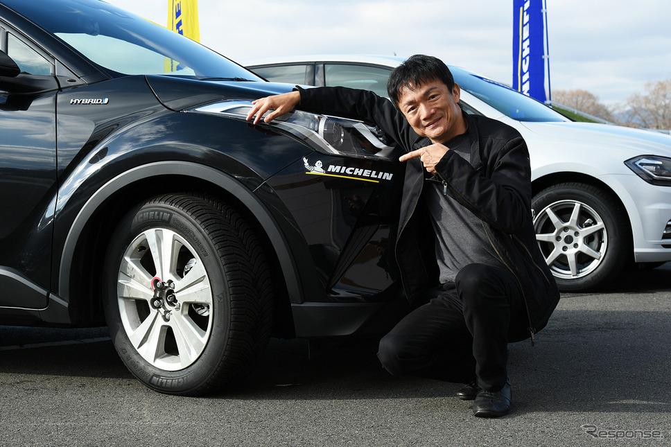 ミシュラン クロスクライメートシリーズ試走レポート 岡本幸一郎氏