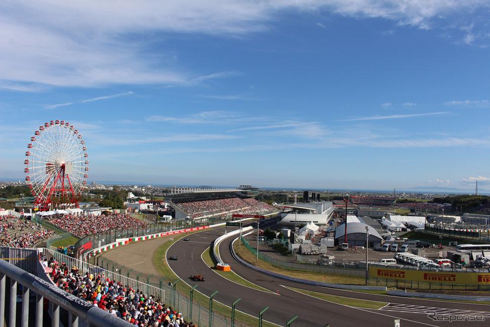 鈴鹿サーキット(2017年F1日本GP)