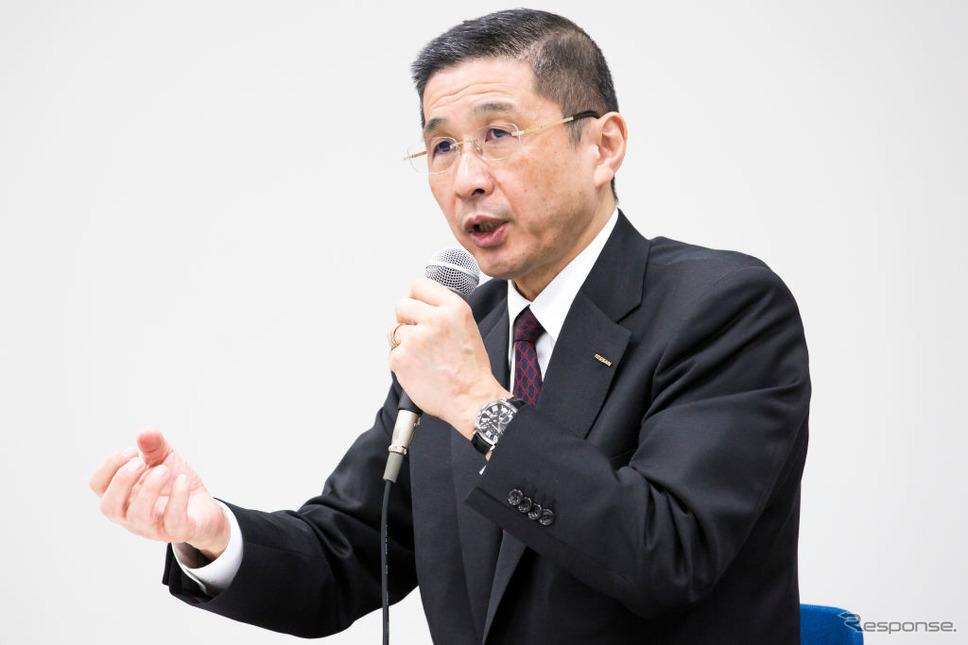 日産自動車の西川社長 (c) Getty Images