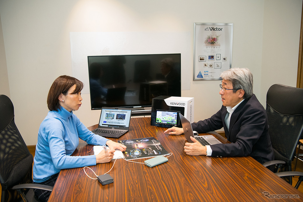 JVCケンウッド アフターマーケット事業部 国内営業部 オートモーティブ分野 商品企画室 渋谷英治氏