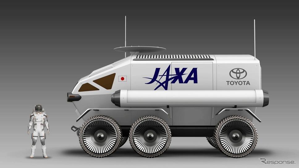 JAXA×トヨタ、有人与圧ローバ