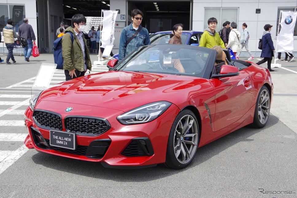 BMW Z4 新型(モーターファンフェスタ2019 in 富士スピードウェイ)