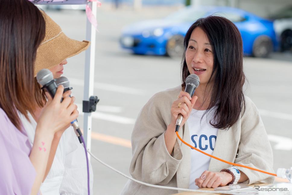 鈴木珠美さん(筑波サーキット・カーフェスティバル2019)
