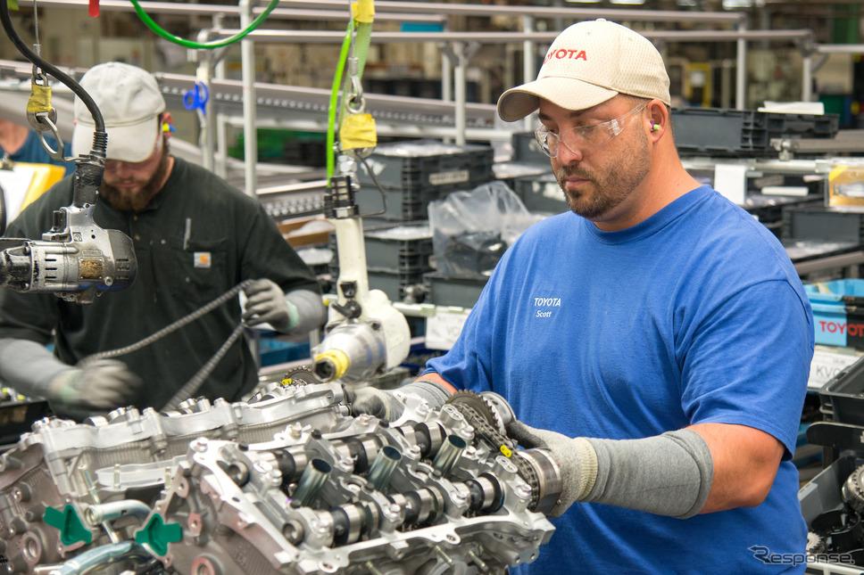 米ウェストバージニア州のトヨタ・バッファロー工場